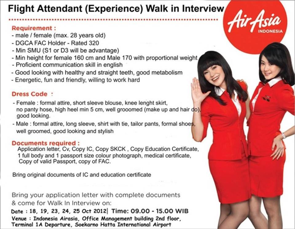 Airasia Indonesia Forum Pramugari