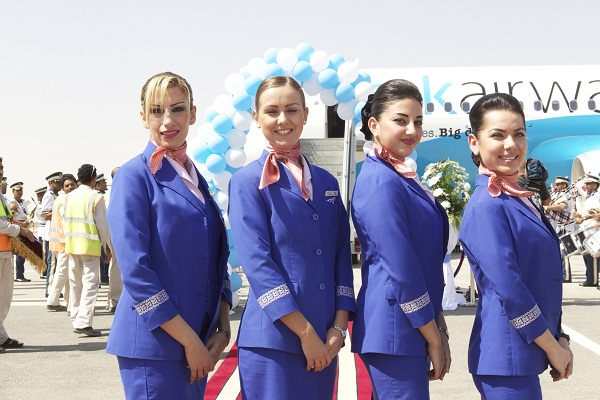 RAK Airways Flight Attendants (photo source: Arabian Gazette)