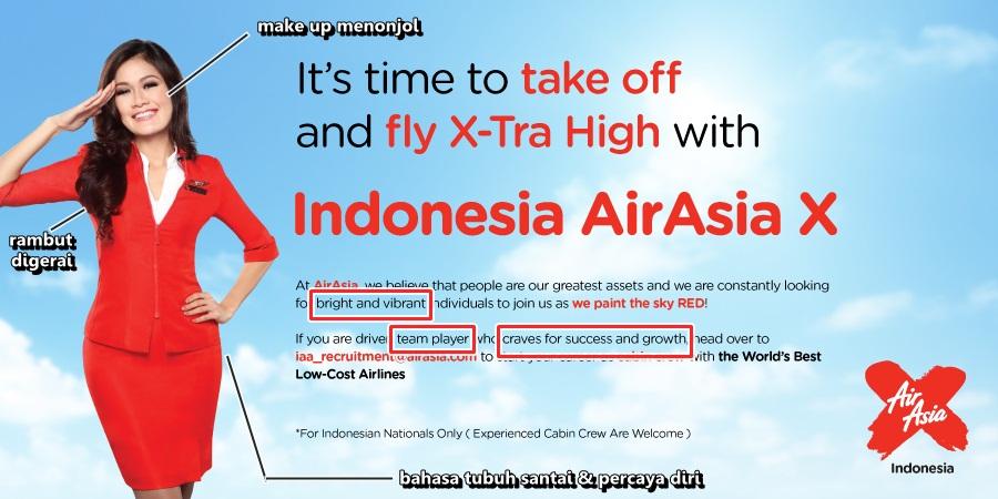 telaah poster AirAsia