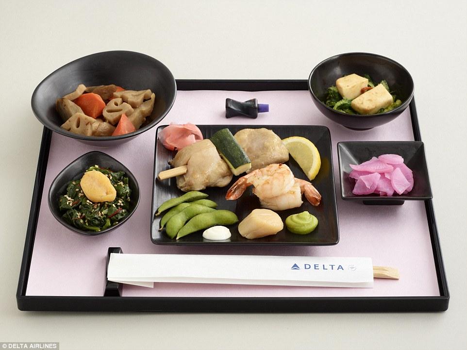 Meal_Delta_Japflight_firstbusiness